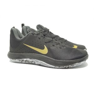 NIKE FLY BY LOW – BLACK/METALLIC GOLD/ANTHRACITE
