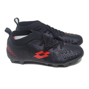 LOTTO ENERGIA FG – JET BLACK/SOLAR RED