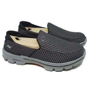 SKECHERS GO WALK 3 53980 – CCOR/CHARCOAL/ORANGE