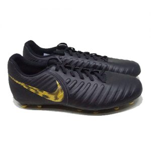 NIKE LEGEND 7 CLUB FG – BLACK MTLC/VIVID GOLD