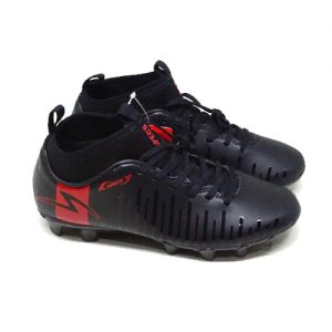 SPECS SWERVO THUNDERBOLT JR FG – BLACK/DARK GRANITE/SOLAR RED