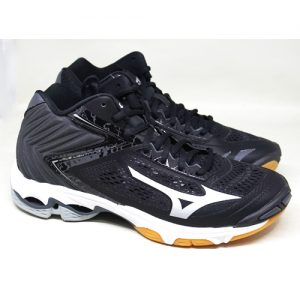 MIZUNO – WAVE LIGHTNING Z5 MID /BLACK SILVER WHITE