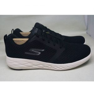 SKECHERS GO RUN 55098 BKW – BLACK/WHITE