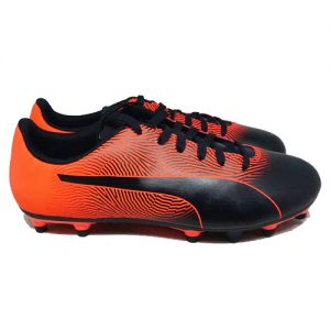 PUMA SPIRIT II FG – BLACK/NRGY RED