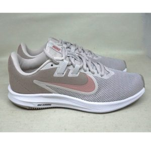 NIKE DOWNSHIFTER 9 – VAST GREY/RUST PINK/PUMICE GRIS