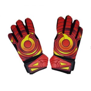 ORTUSEIGHT SAVIOUR GK GLOVES – ORTRANGE MAROON MINION YELLOW