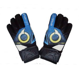 ORTUSEIGHT PROTECTOR GK GLOVES – BLACK ARTIC BLUE WHITE