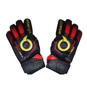 ORTUSEIGHT CONQUEROR GK GLOVES – BLACK ORTRED GOLD