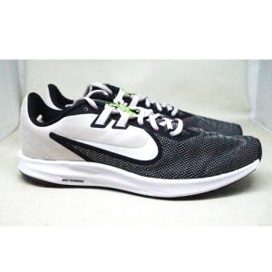 NIKE DOWNSHIFTER 9 – BLK WHT VAST GREY